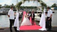 Выездная регистрация свадьбы на яхте