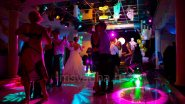 Световое украшение свадьбы