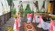 Оформление выездной регистрации свадьбы