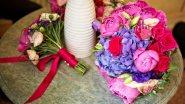Букет для невесты с дублером