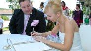 Выездная регистрация свадьбы за городом